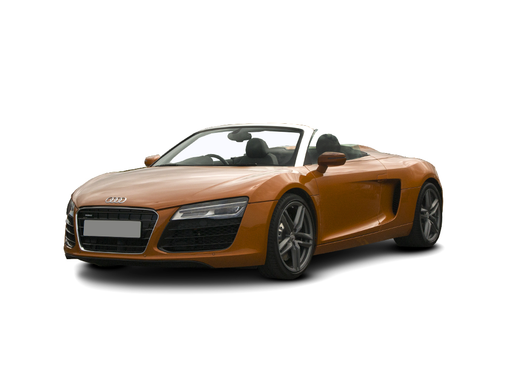 New Audi R8 5.2 FSI V10 Quattro 2dr spyder UK Car