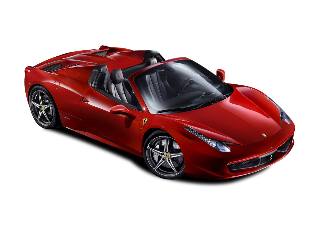 New Ferrari 458 Spider 2dr Auto Convertible Uk Car