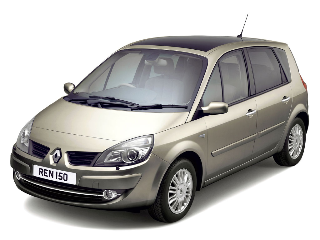 renault scenic 1 9 dci dynamique 5dr auto diesel estate deals. Black Bedroom Furniture Sets. Home Design Ideas