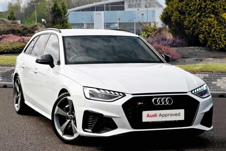 Audi A4 Avant Black Edition Tdi 347 Ps Tiptronic Estate Diesel Avant Buyacar