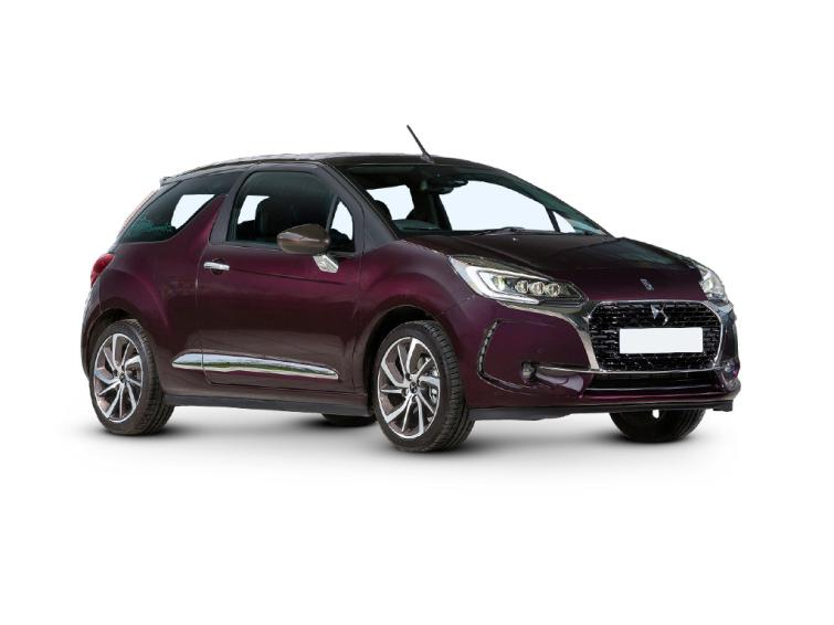 DS  3 1.6 THP 210 Performance Black 2dr  cabrio