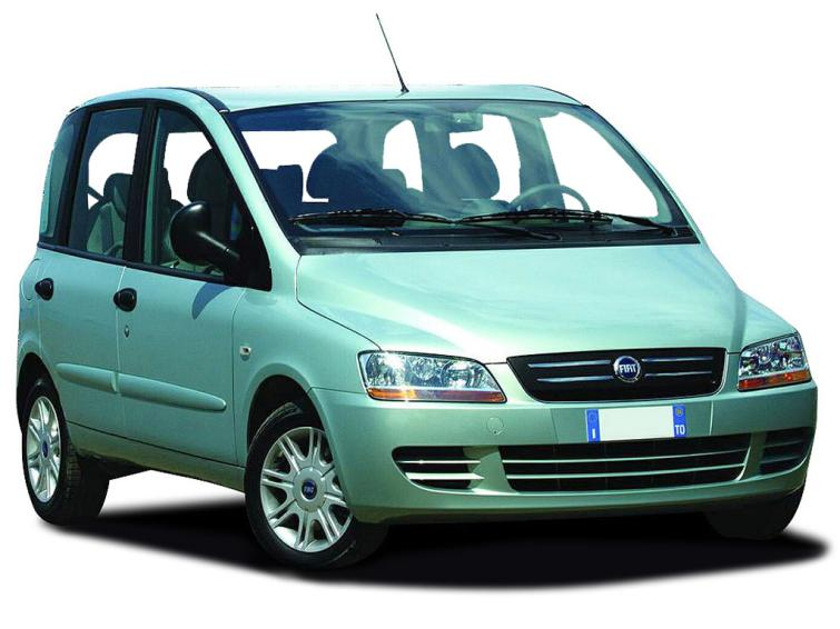 fiat multipla 19 multijet dynamic family 5dr special editions