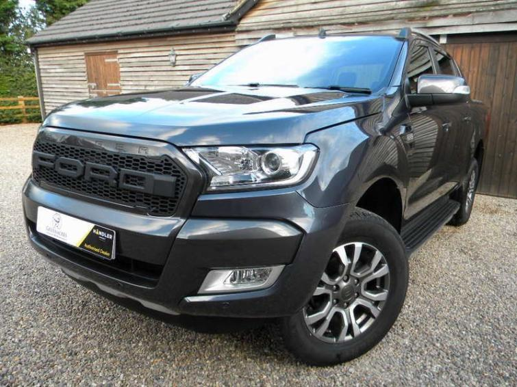 Ford Ranger Pick Up Double Cab Wildtrak 3.2 TDCi 200 Auto  diesel Double Cab Pick-up