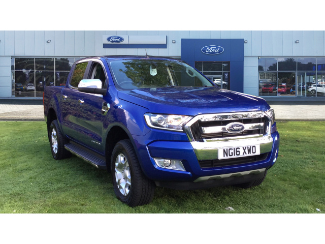 Ford Ranger Pick Up Double Cab Limited 2 2.2 TDCi  diesel Double Cab Pick-up