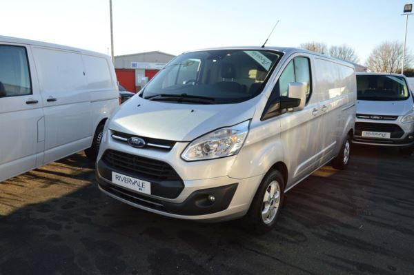 Ford Transit Custom 2.0 TDCi 130ps Low Roof D/Cab Limited Van  290 l2 diesel fwd Crew Bus