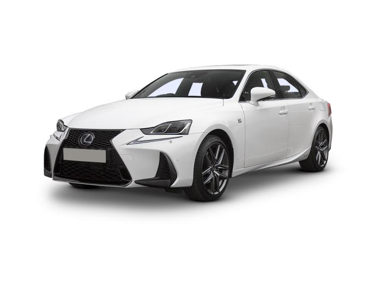 Lexus IS 300h F-Sport 4dr CVT Auto [Premier Pack/Sunroof]  saloon