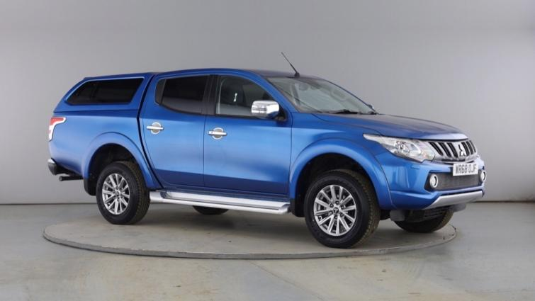 Mitsubishi L200 Double Cab DI-D 178 Barbarian 4WD Auto  diesel Double Cab Pick-up