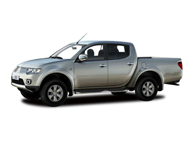 Mitsubishi L200 D/Cab DI-D Warrior II 4WD 176Bhp [2010]  lwb lb diesel Double Cab Pick-up