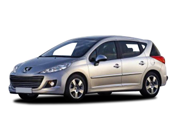 peugeot 207 1 4 vti active 5dr sw estate discounted cars. Black Bedroom Furniture Sets. Home Design Ideas