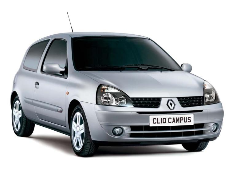 renault clio 1 2 16v campus sport 2007 3dr hatchback discounted cars. Black Bedroom Furniture Sets. Home Design Ideas