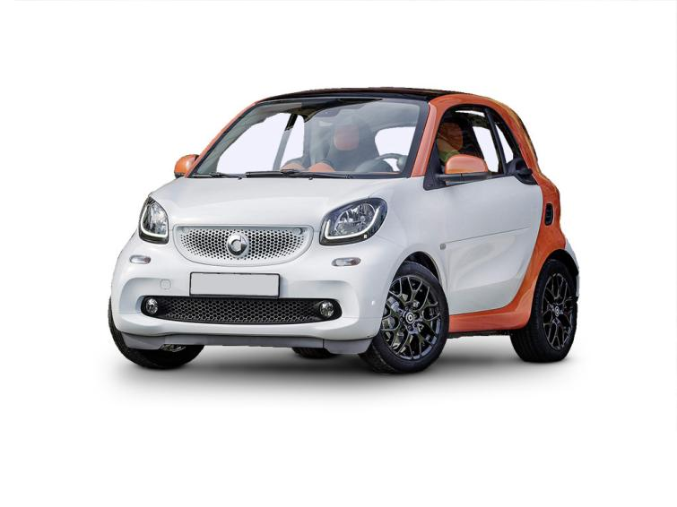Smart Fortwo Coupe 0.9 Turbo Black Edition 2dr Auto  special editions