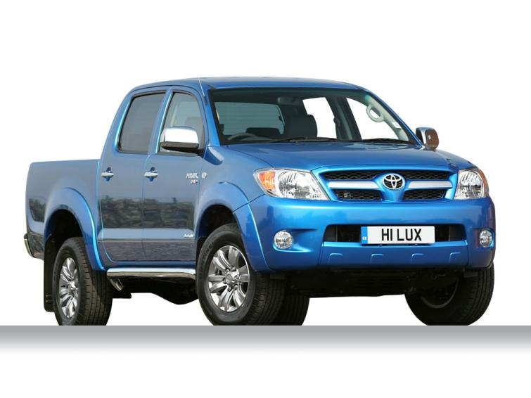 Toyota Hilux Invincible D/Cab Pick Up 3.0 D-4D 4WD  diesel (2005-2011) Double Cab Pick-up